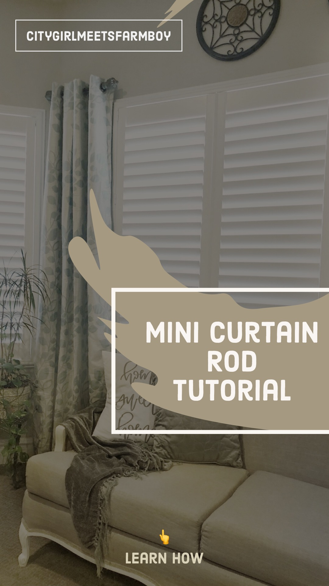 interchangeable with rods a large curtains charge mini here and in bead tutorial curtain finials filigree cap