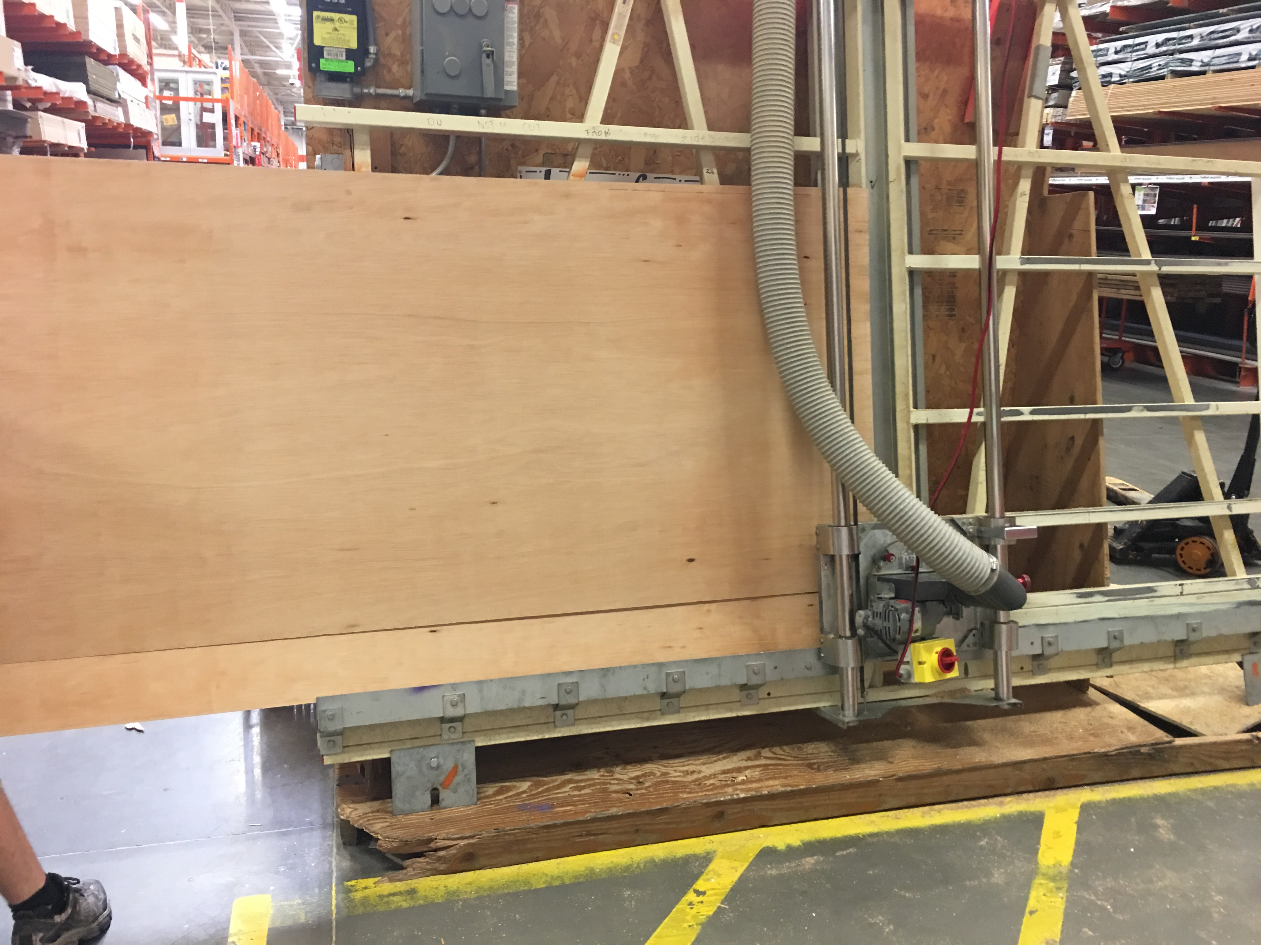 DIY – Using The Home Depot s Cutting Center