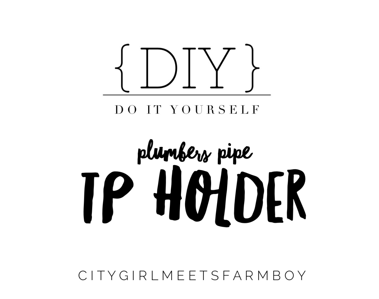 Do it yourself plumbers pipe tp holder plumbers pipe is a great look for any industrial style bathroom let us show you how easy it is to create a plumbers pipe toilet paper holder there are so solutioingenieria Image collections