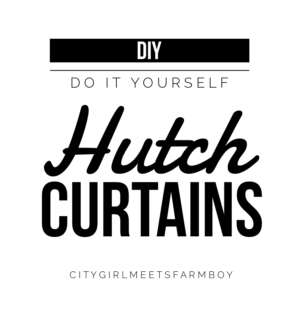 Soon after a soccer ball went flying through the class door and shattered it. One month later the other door was toast.  sc 1 st  Citygirlmeetsfarmboy & Do It Yourself \u2013 Hutch Curtains  