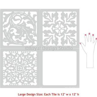 large_classic_european_style_tile_stencils_flooring